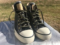 pair of black Converse All-Star high-tops Charlotte, 28216