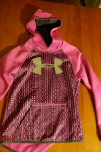 Girls under armour hoodie size med 10-12 Blue Rock, 43720