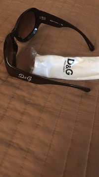 Dolce and gabbana black butterfly sunglasses