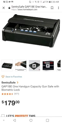 Sentry Gun Safe (NEW) Charles Town, 25414