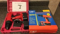black and red cordless drill with case Montréal, H3M