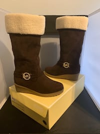 Micheal Kors Beatrice2 New Fall Brown Boots. Size  Milwaukee, 53218