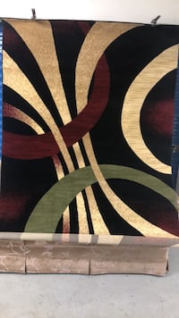 5x8 area rug new never used quality