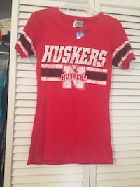 NWT Child Size L Huskers Tee Myrtle Beach, 29577