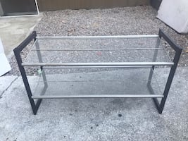 Shoe rack - great condition