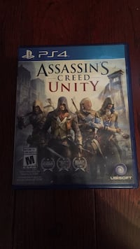 PS4 Assassin's Creed Unity case Toronto, M3J 1X9