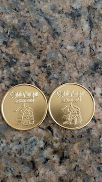 Captain Morgan Booty Coins