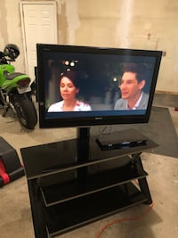 38in Sony tv/stand combo