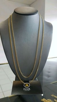 10k real gold 3mm solid Gucci Mariner chains  Toronto, M1K 1N8