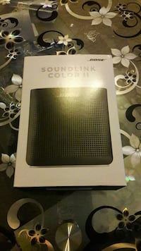 schwarze Bose Soundlink Color 2 Box