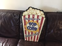 Popcorn sign all lights work.  Purchased from Kirkland's   Winchester, 22601