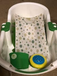 Safety 1st Adjustable Baby Tub w/Water Thermometer