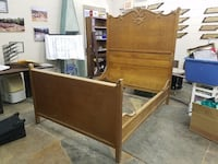Antique tiger oak full size bed $500 plus tax Spring Hill, 37174