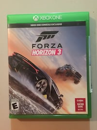 Forza Horizon 3 Xbox One game case North Little Rock, 72118