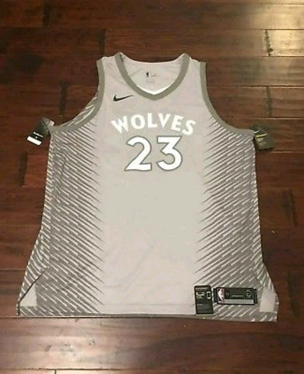 new product 075db 730fa Nike - Jimmy Butler Silver City Edition Minnesota