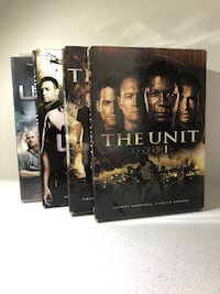The Unit DVDs (The Complete Series) ($20 for all of them!) North Vancouver