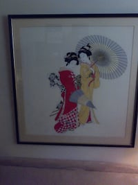 Japanese style picture, large Kingston