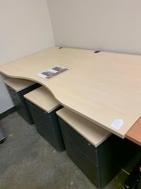 Maple Straight Office Desk Tigard, 97223
