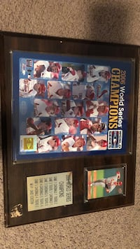 2006 World Series Champions poster with frame Troy, 63379