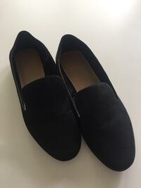 Joe Fresh Black Suede Loafer Banff, T1L 0A1