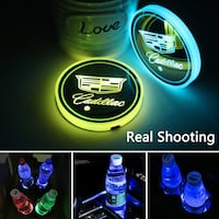 Glowing cup car disc