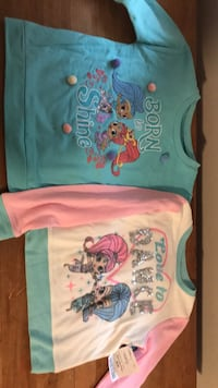 Shimmer and Shine Sweatshirts, Size 6 Schenectady, 12302