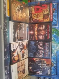 Action Dvd's 5$ each or 3 for 10$ Brampton, L6X 1G8
