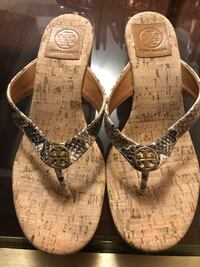 Authentic Tory Burch Wedge Sandals Mississauga, L5V 1S3