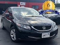2013 HONDA CIVIC BLACK Manassas, 20110