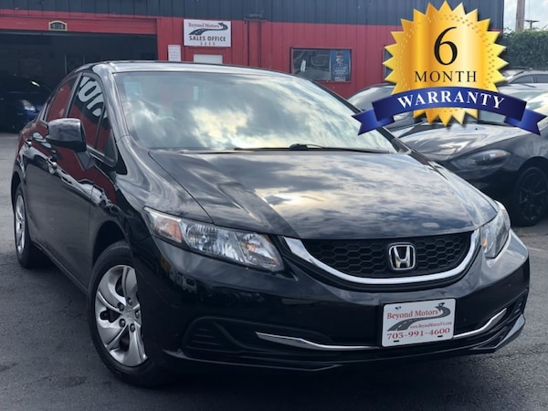 2013 HONDA CIVIC BLACK