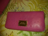 pink and black leather wallet Plant City, 33565