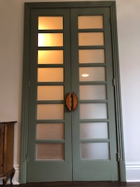 Solid Wood French Doors - Two Sets