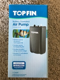 TopFin Air Pump Reston, 20190