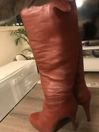 7 size leather boots