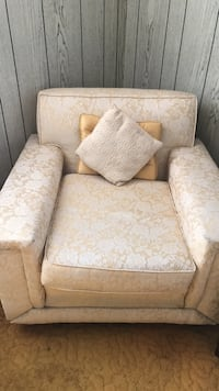 white and brown floral sofa chair New York, 11417