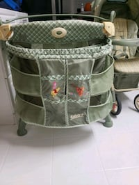 winnie the poo pack and play with changing and winnie the poo stroller