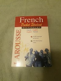 French Pocket Student book
