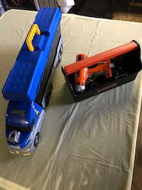 Tractor w/Tools n Tool Box both for 1 price Sayville, 11782