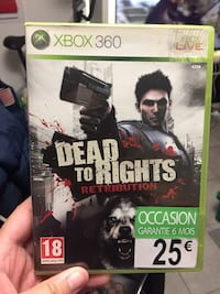 Jeux xbox 360 Dead to Rights  Saint-André-de-la-Roche, 06730