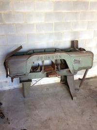 1940s or 50s industrial metal bandsaw Lorton, 22079