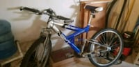 blue and gray full-suspension bike Oceanside, 92054