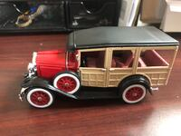 1929 Red Ford Woody Wagon Montclair