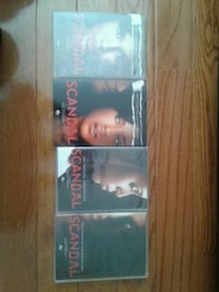 Scandal TV show.  Seasons 1-4 on DVD Hyattsville, 20781