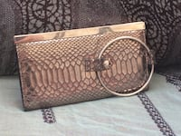 brown leather crocodile skin handbag Vancouver, 98661
