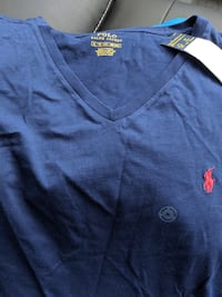 Brand new Ralph Lauren Polo vneck T-shirt size XL with tags VANCOUVER