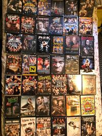WWF 45 DVD'S 5$ each Or 200$ for All Inglewood, 90303