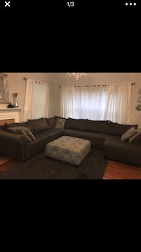 Gray sectional sofa Laurel, 20724