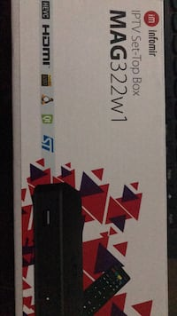 MAG 322w1 WIFI IP TV IPTV BOX NEW 1 MONTH FREE CHANNELS  Brampton, L7A 0Z8