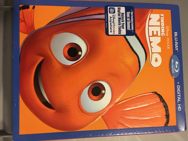 bc35cb999e3 Disney Finding Nemo ( Brand new Blu Ray)
