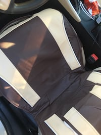 black and white leather car seat High Point, 27262